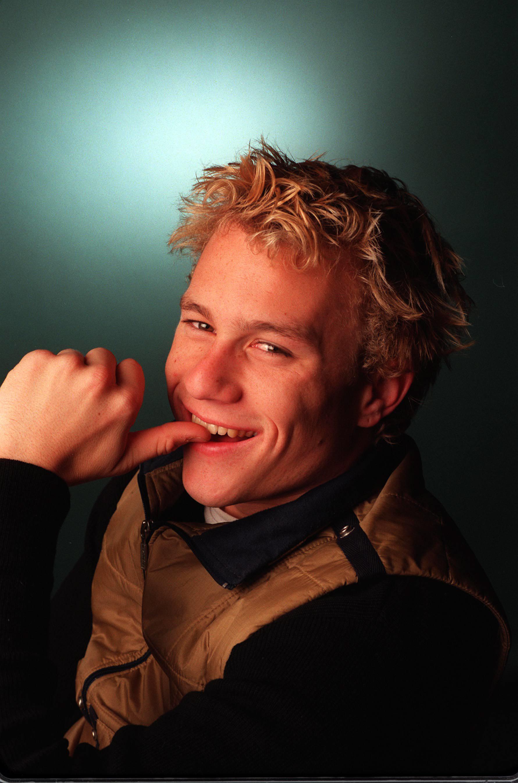 A young - Heath Ledger