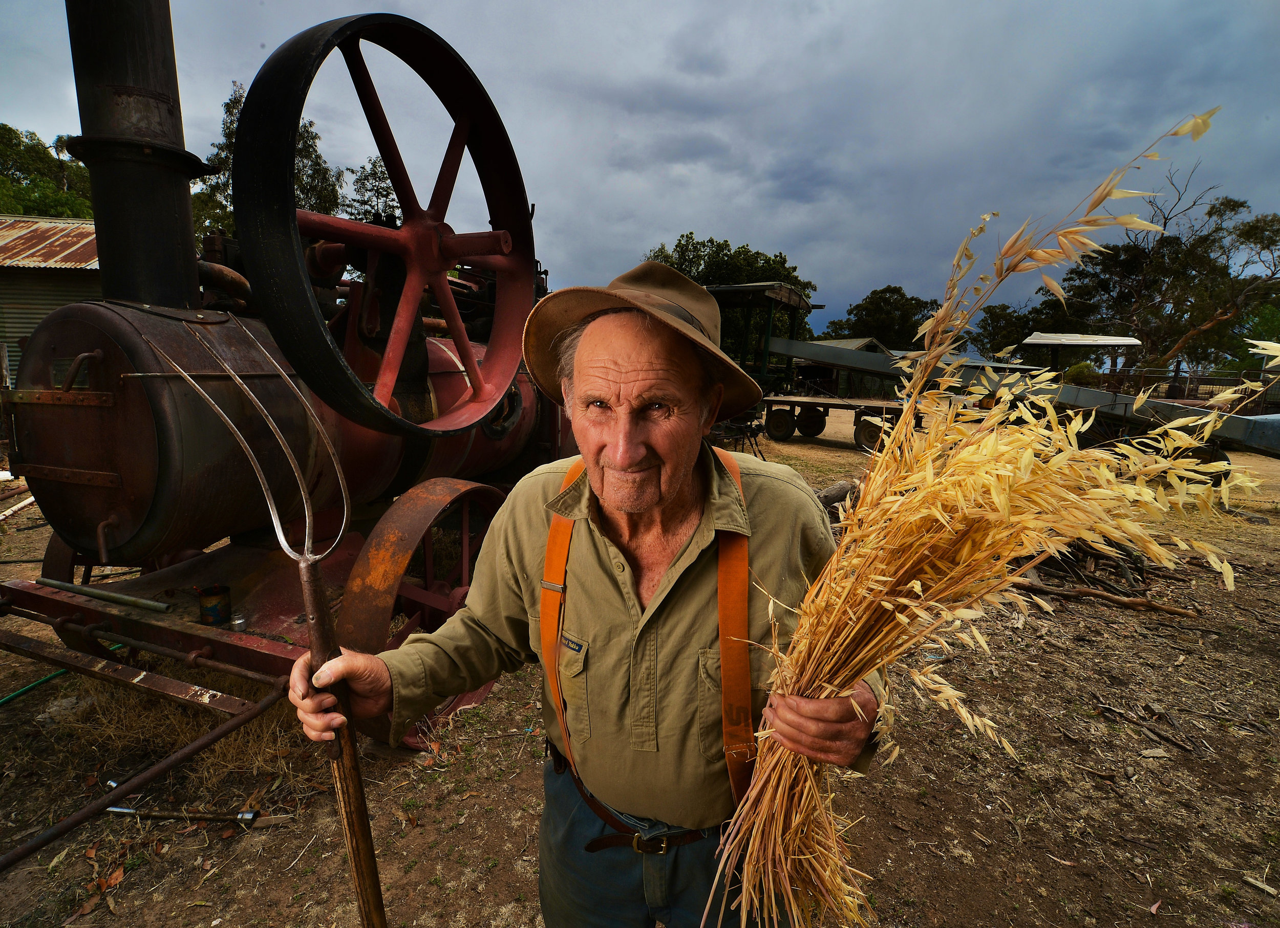 CHP_Export_47785155_Bill Chandler 90  at his Barmah farm .Phone 58693236.jpg
