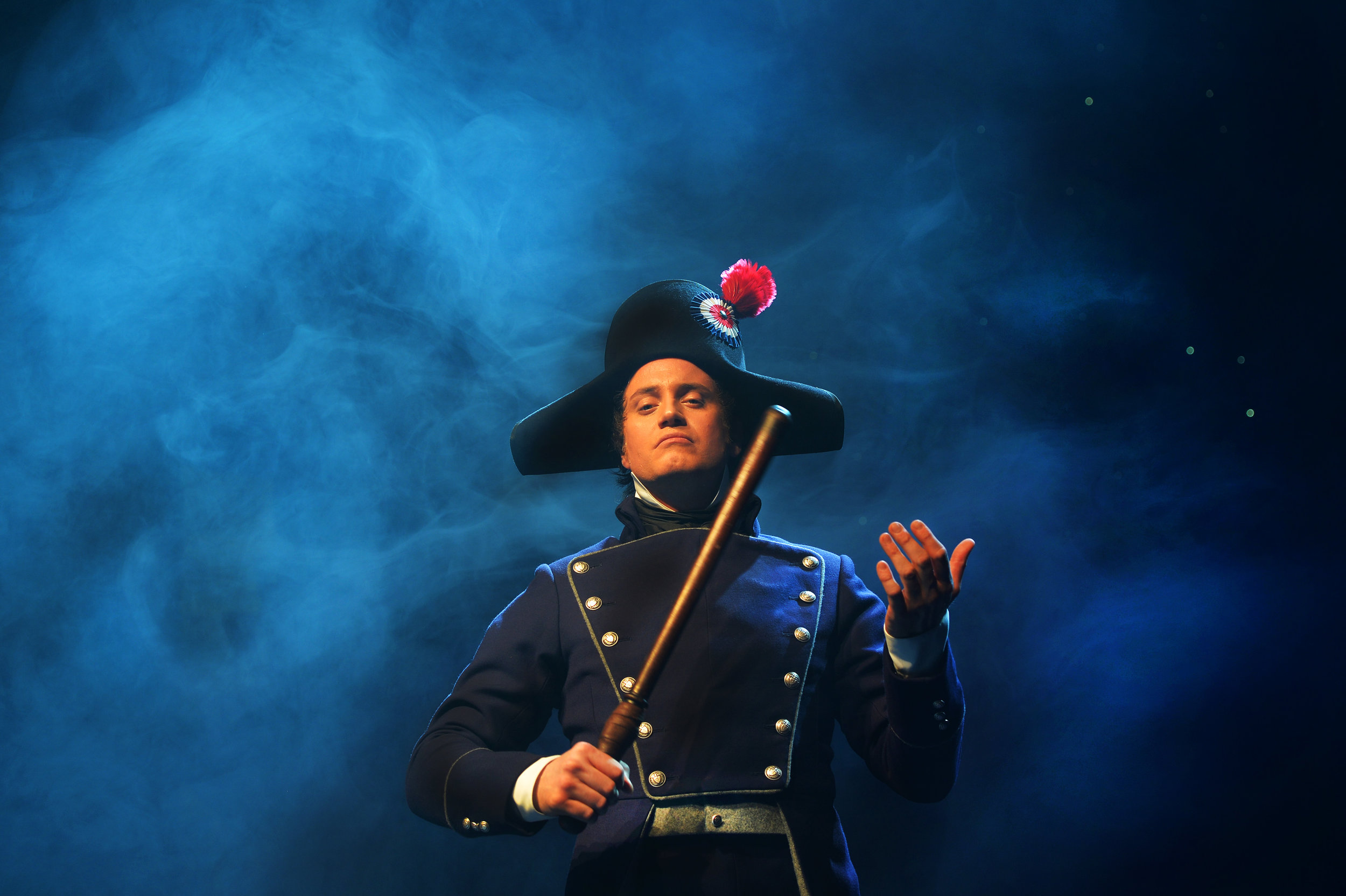 CHP_Export_74521115_Hayden Tee who plays Javert in Les Miserables in costume on stage..jpg