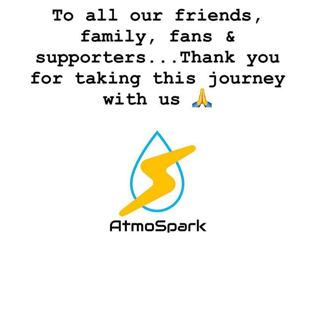 A message from the Atmospark team. 🙏 #Atmospark #startup #water