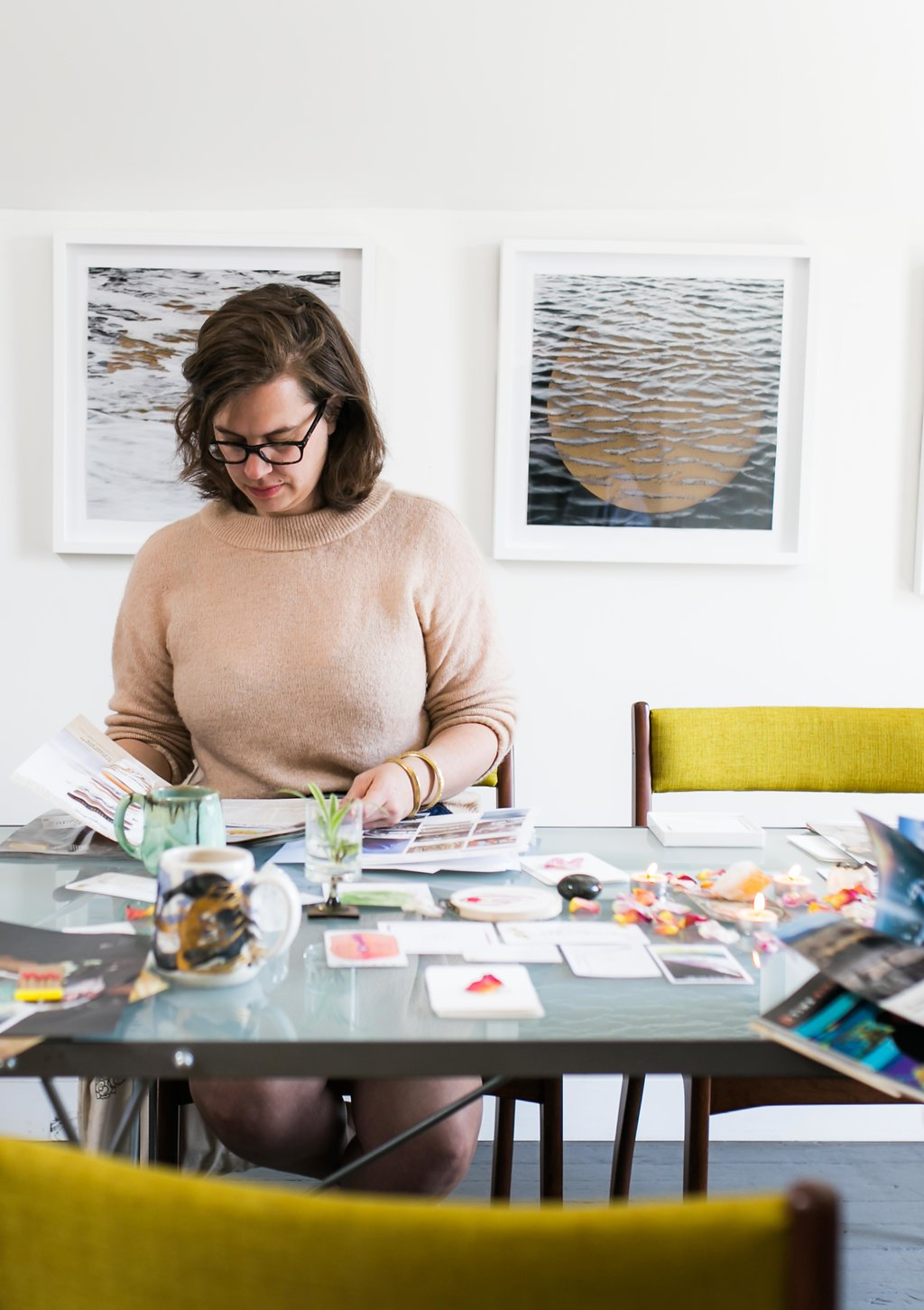 Hint: It's not about the art. - You do not need to be an artist or particularly creative to benefit from Art Therapy, as long as you're open to engaging and learning more about yourself through the creative process.The goal is not to make something beautiful, but to get your intuition's guidance on your questions.