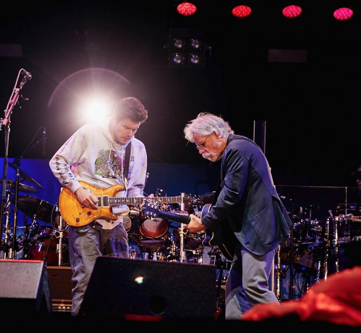 John Mayer and Bob Weir of Dead & Company IG: @johnmayer