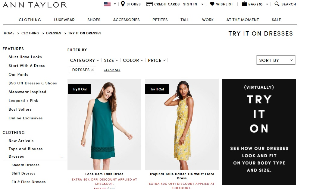 Partner Spotlight: Ann Taylor - See how Ann Taylor uses Avametric technology to offer virtual try-on to their customers.