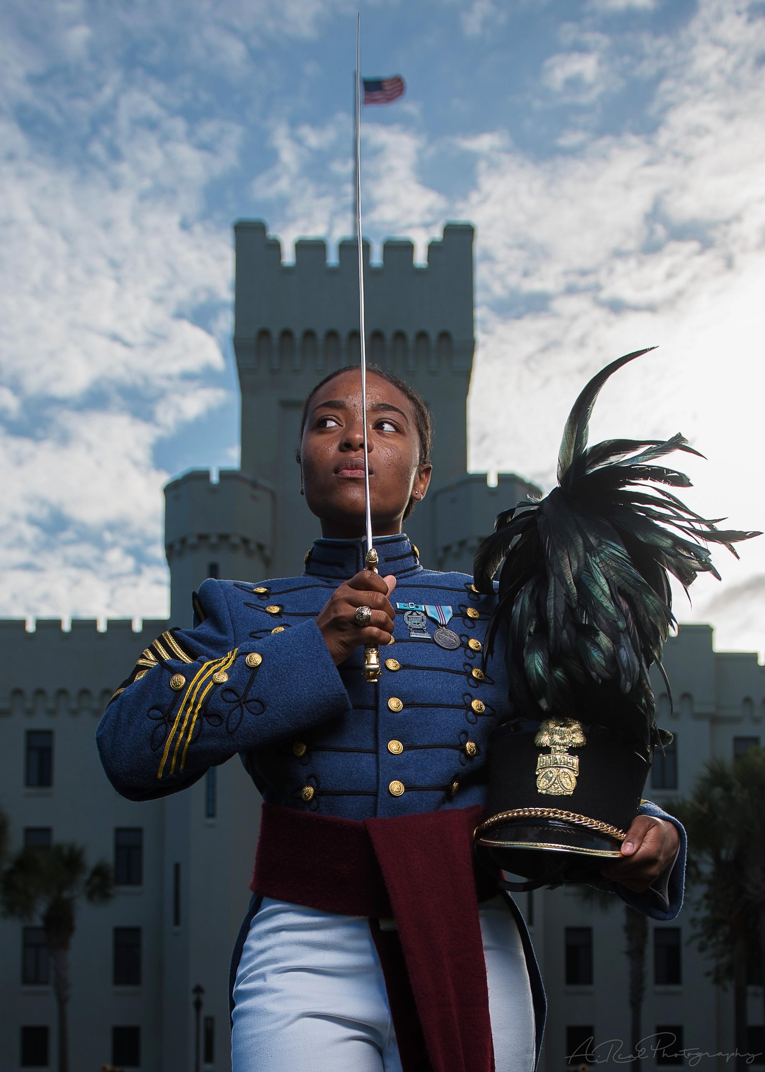 Cadet Kameron Cass, Citadel 2019, The Citadel