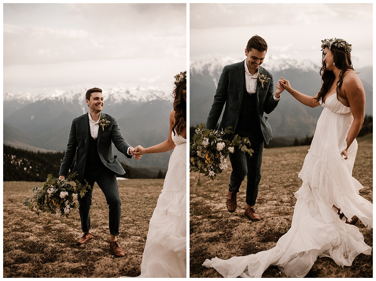 Ashley + Alex - Olympic National Park