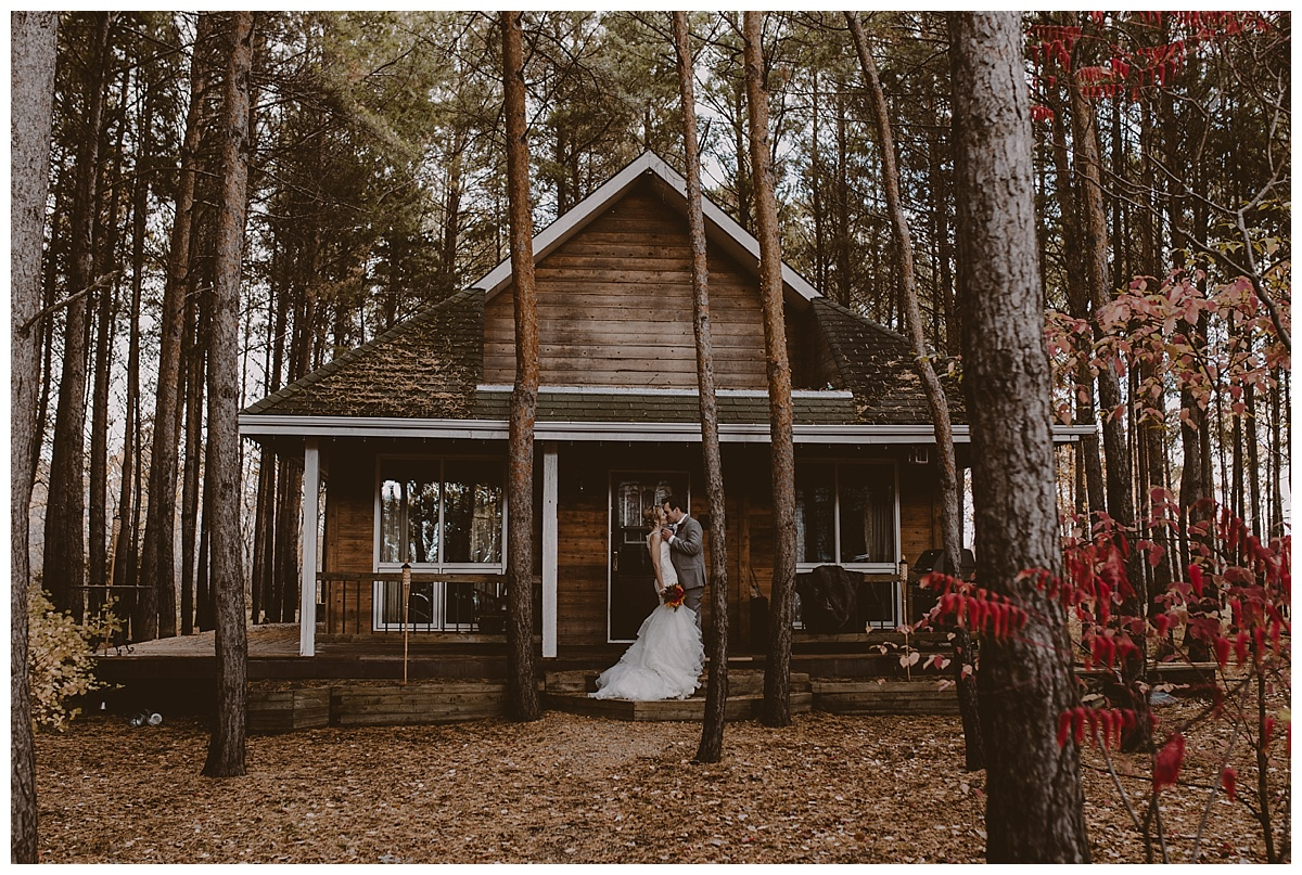 Fall Cabin Wedding - Ashgrove Acres