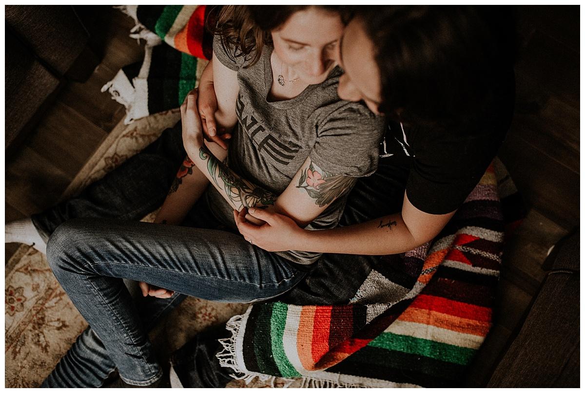 Kenora Pines - Engagement Session,Joelle + Wynne