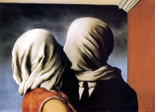Magritte 'The Lovers'