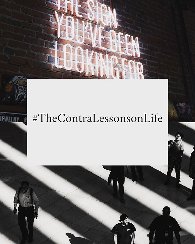 #TheContraLessonsonLife Is a Sunday curation of the most inspiring, heart warming, cognitively polarising finds of the week. #weeklyedit #findsontheinternet #new #lessonsonlife