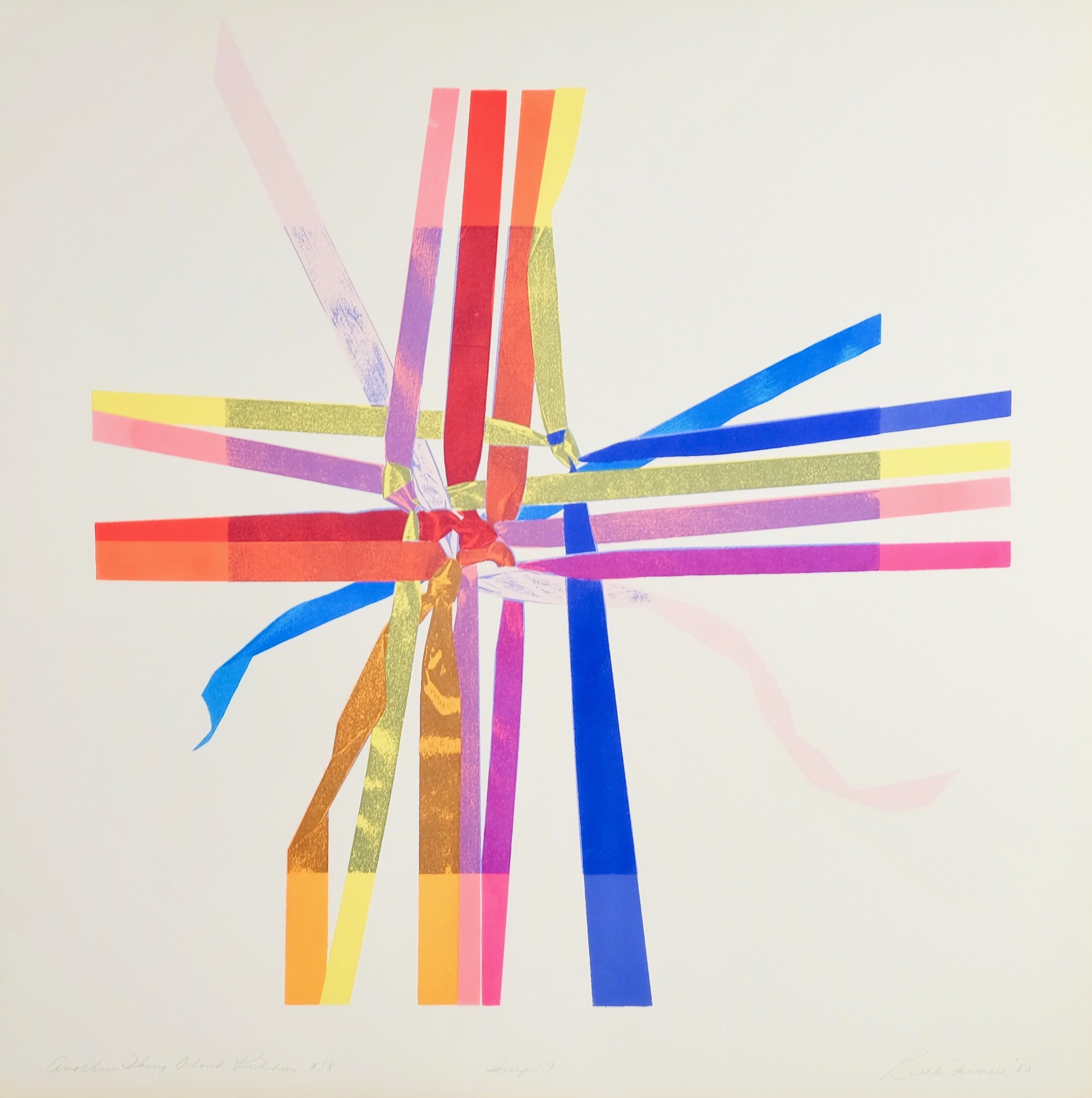 Another Thing About Ribbons II, $350