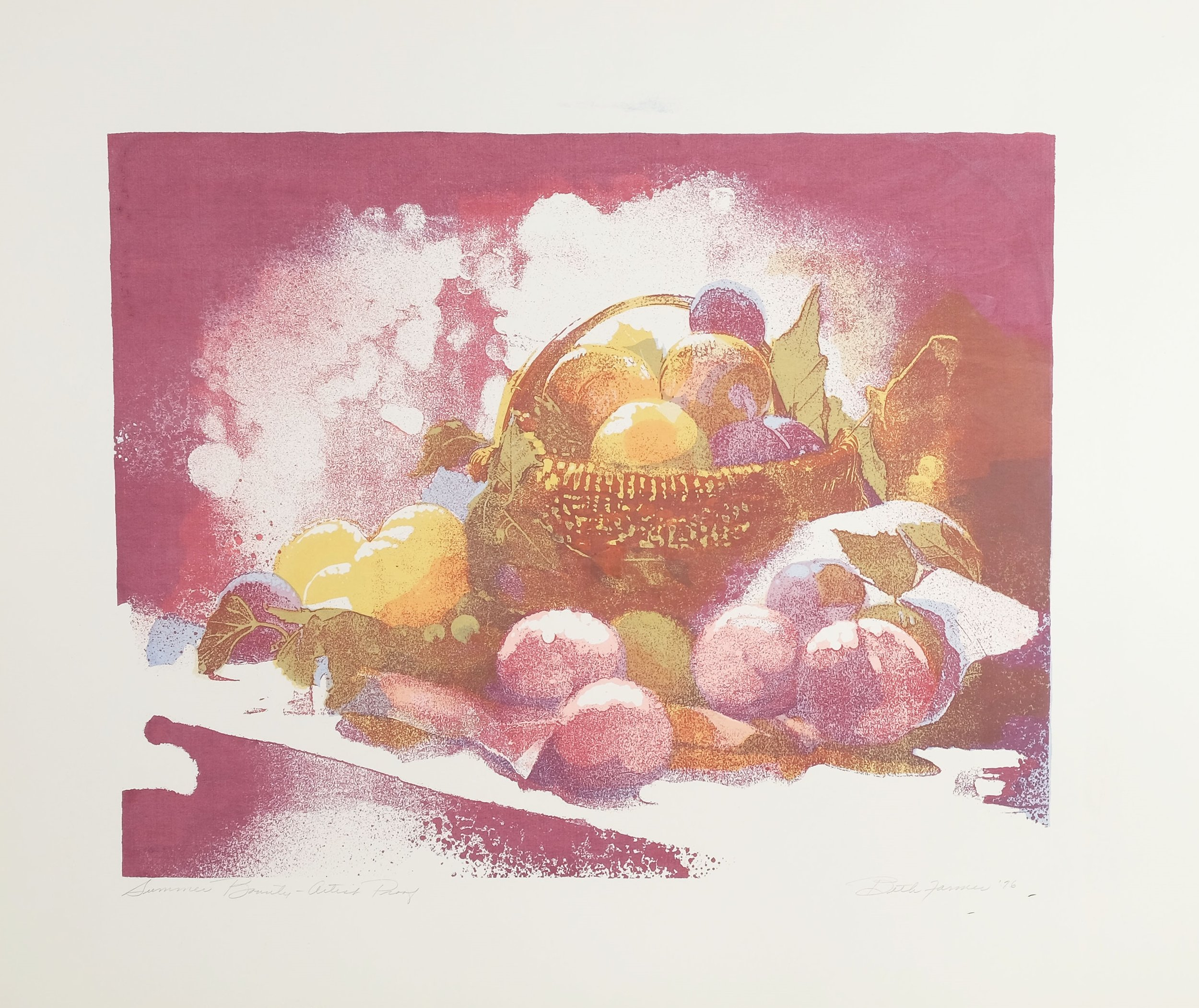 Summer Bounty, Wine II, $275