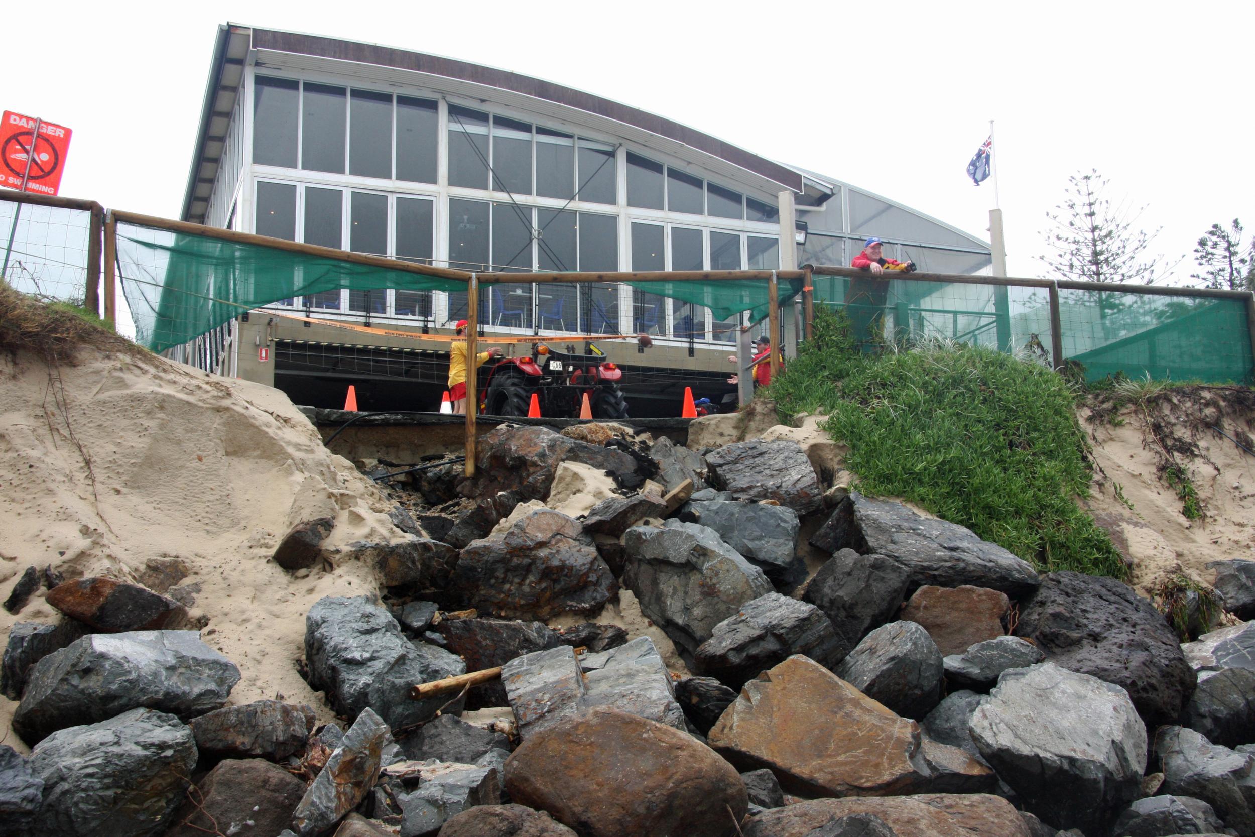 2013 Severe Erosion Impact