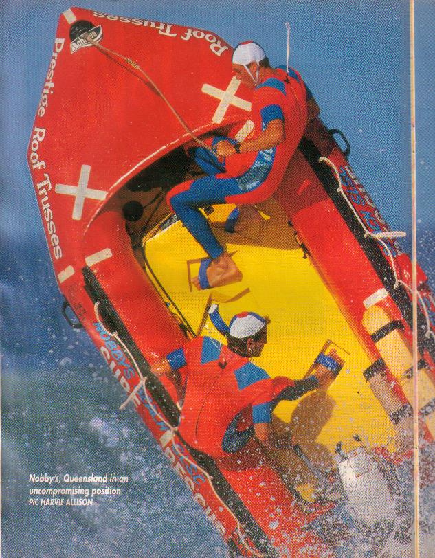 Nobby's Beach SLSC IRB Team 90s