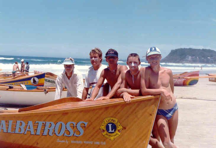 Nobby's Beach SLSC Junior Boat Crew