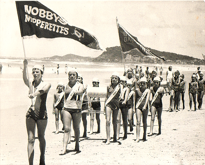 Nobby's Beach SLSC Nipperettes March Past