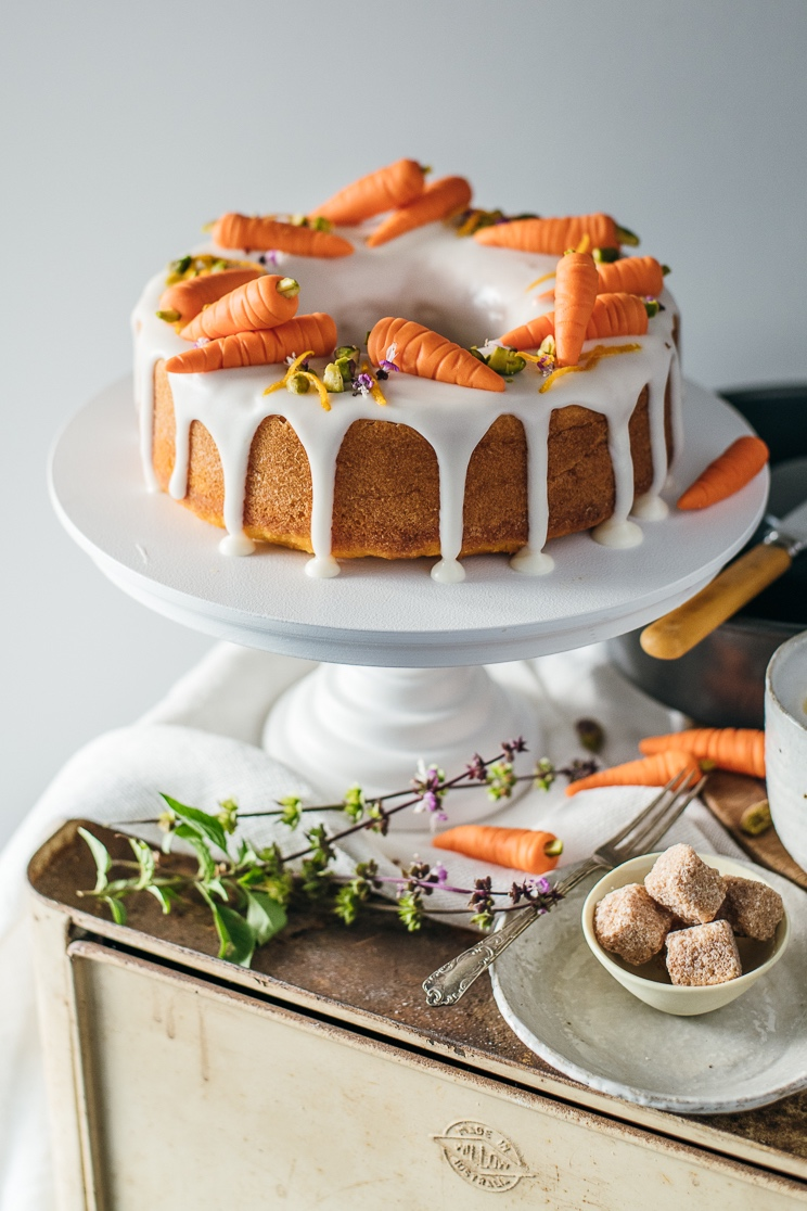 carrot and citrus cake