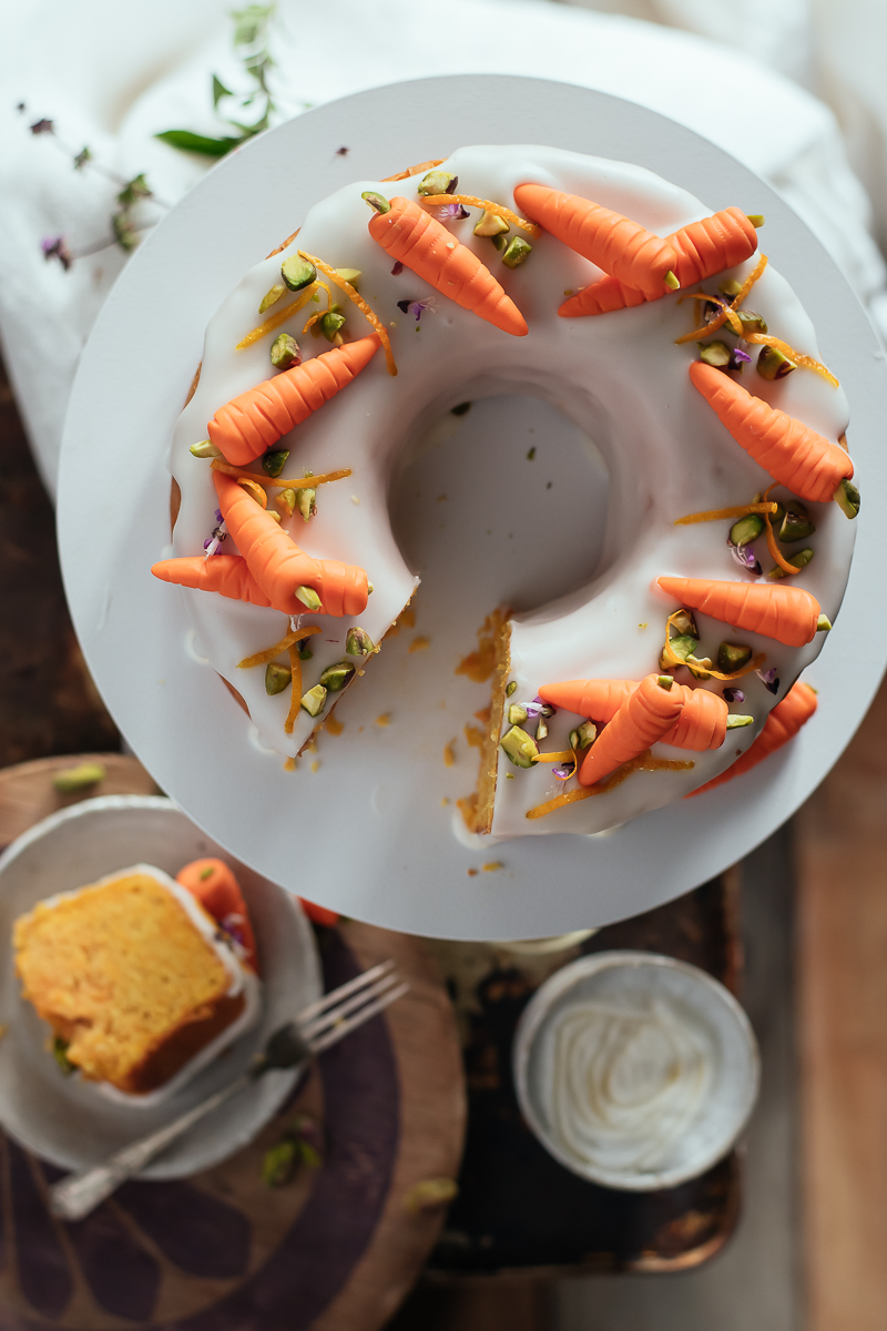 carrot and citrus cake carrots