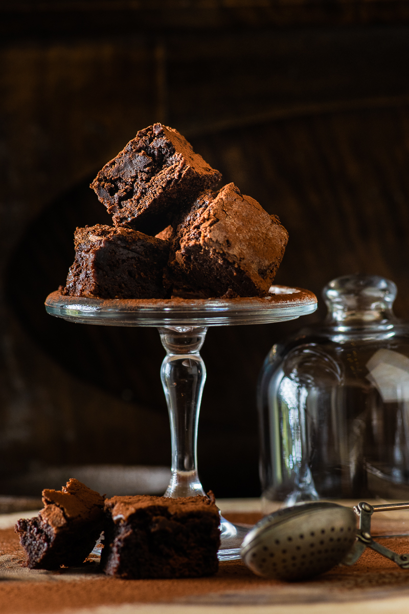 Brownie cubes