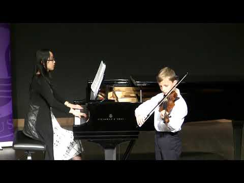 RCM Gold Medal Event - Daniel, Violin level 4