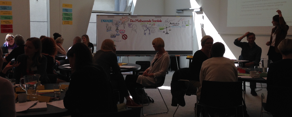 Workshop på Bella Sky om Den Motiverende Samtale