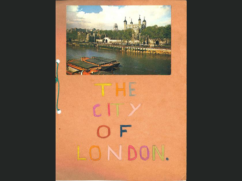 A school project on 'The City of London'