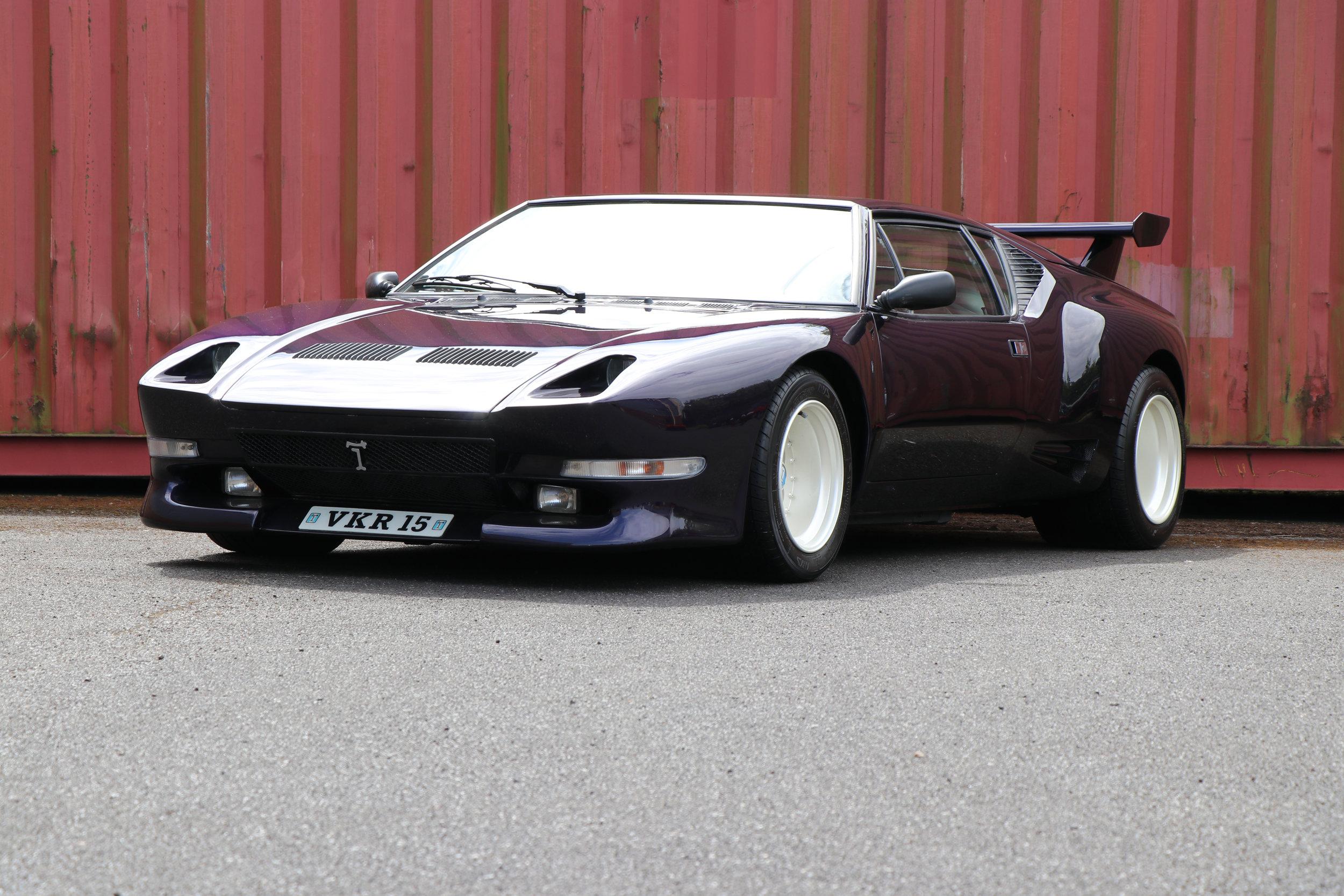 SOLD De Tomaso Pantera GTS 1981 restored at Three Point Four