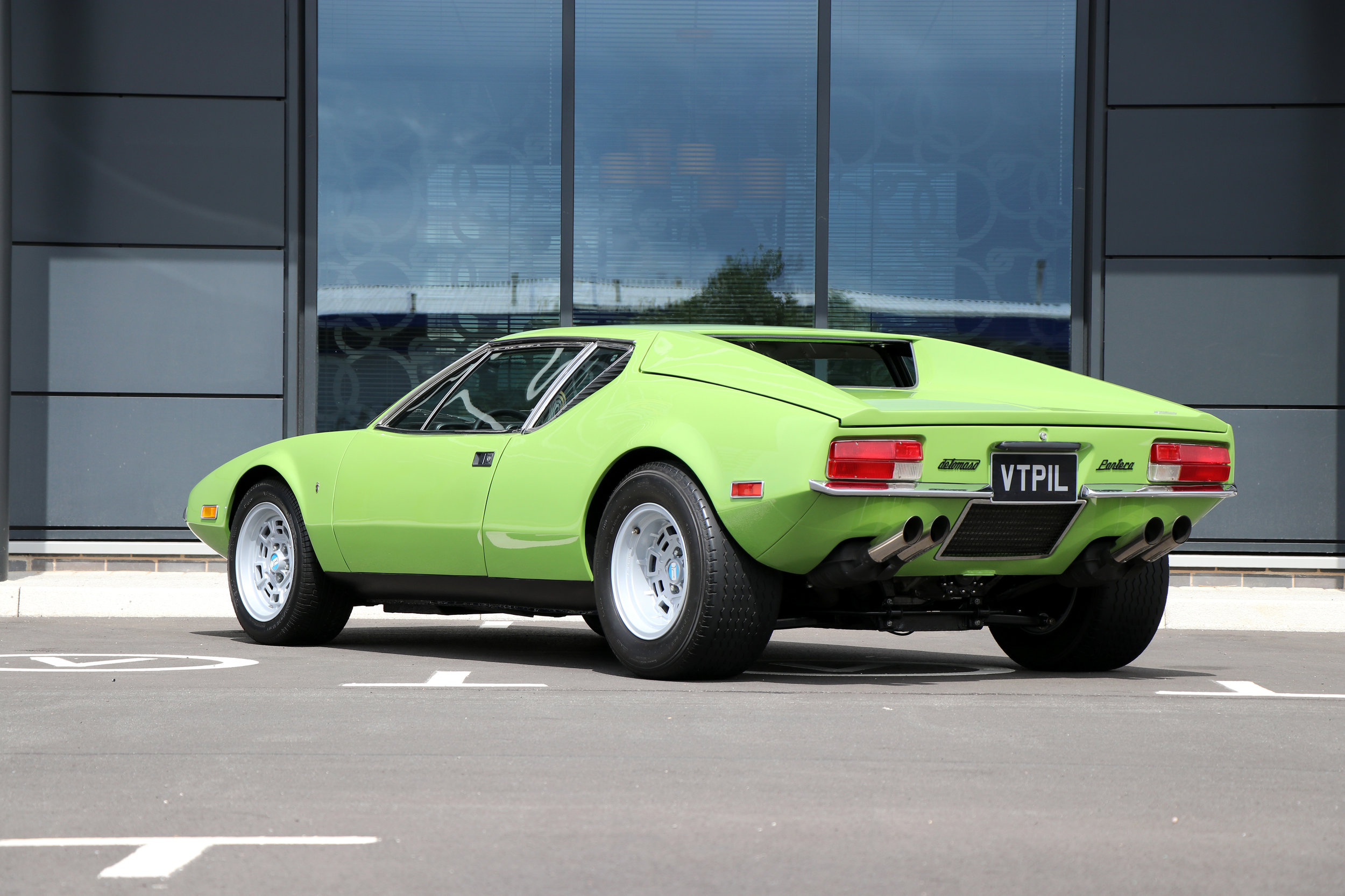 For Sale UK Fully Restored 1972 De Tomaso Pantera