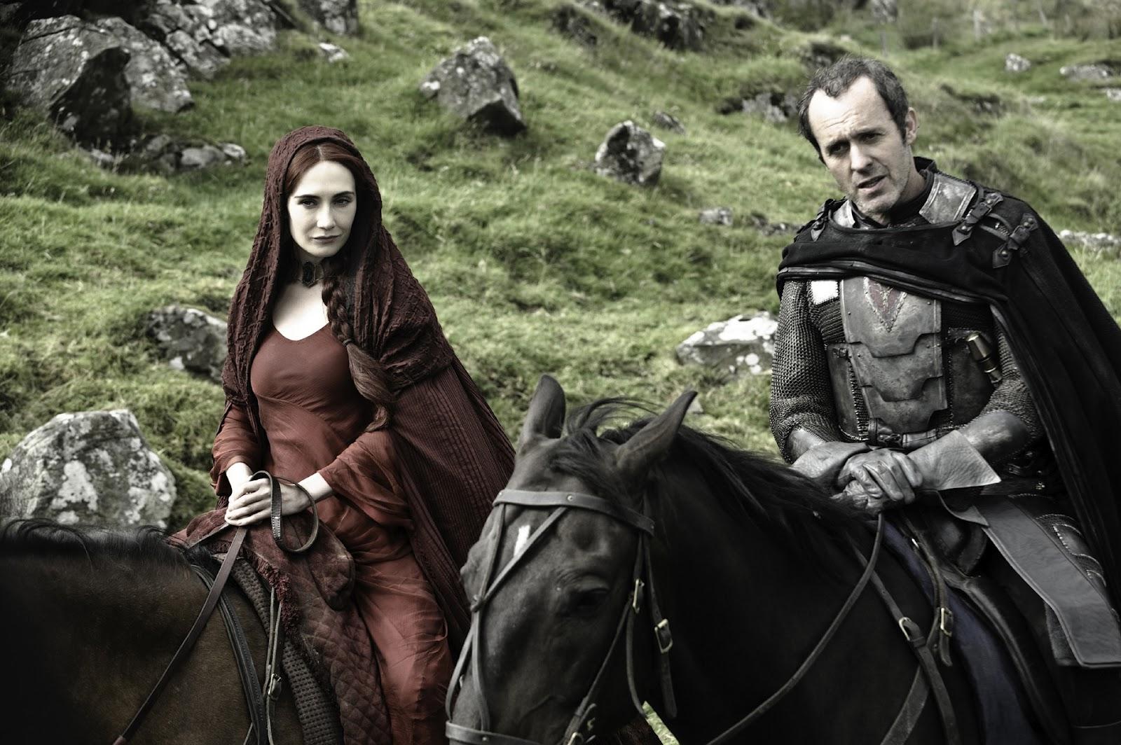 """""""Stannis, it's me, Melisandre, I've come ho-o-o-o-ome,                               so cold, let me poison some old du-u-u-ude..."""""""