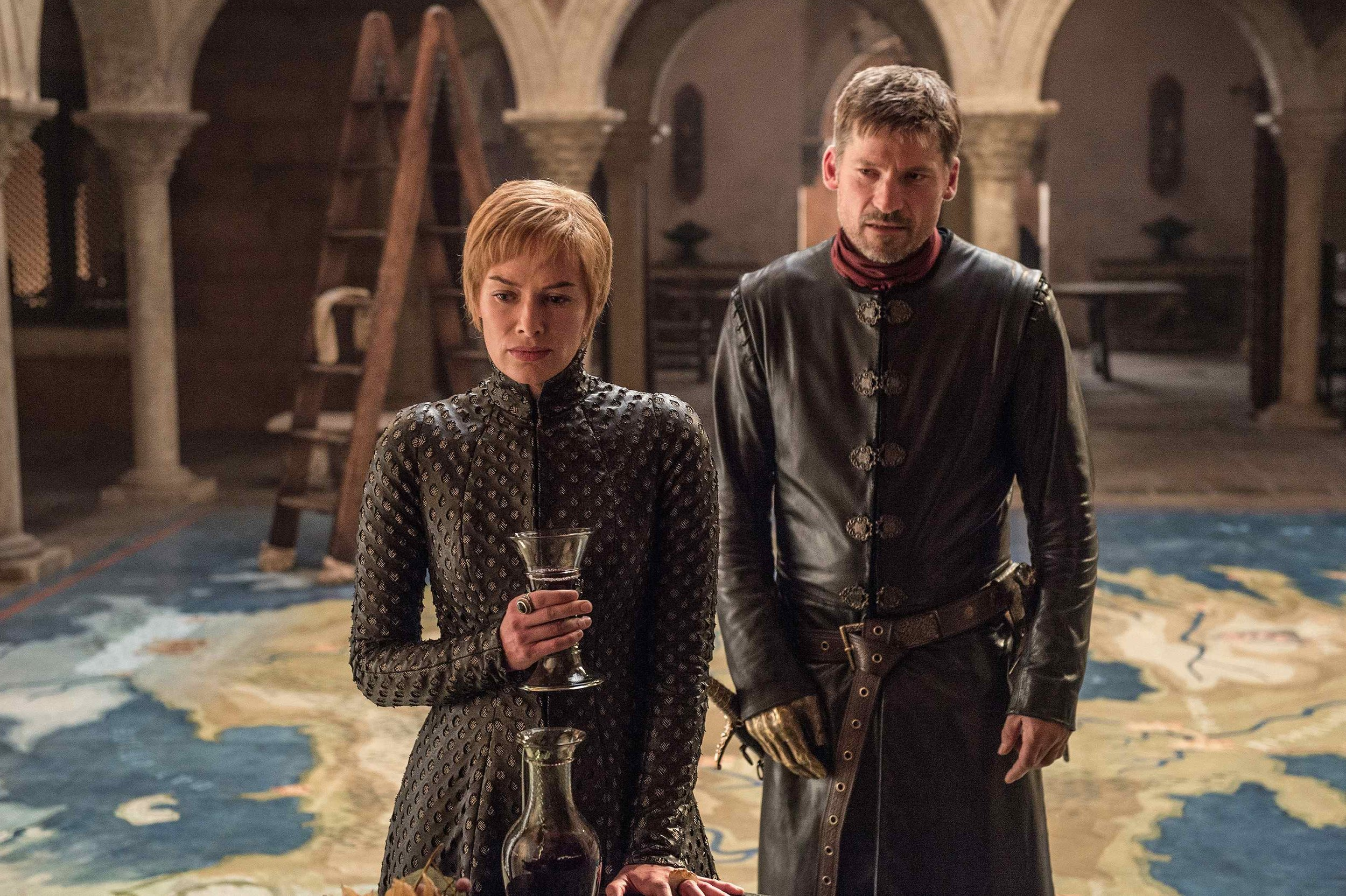 Breaking News: Cersei drinks wine.