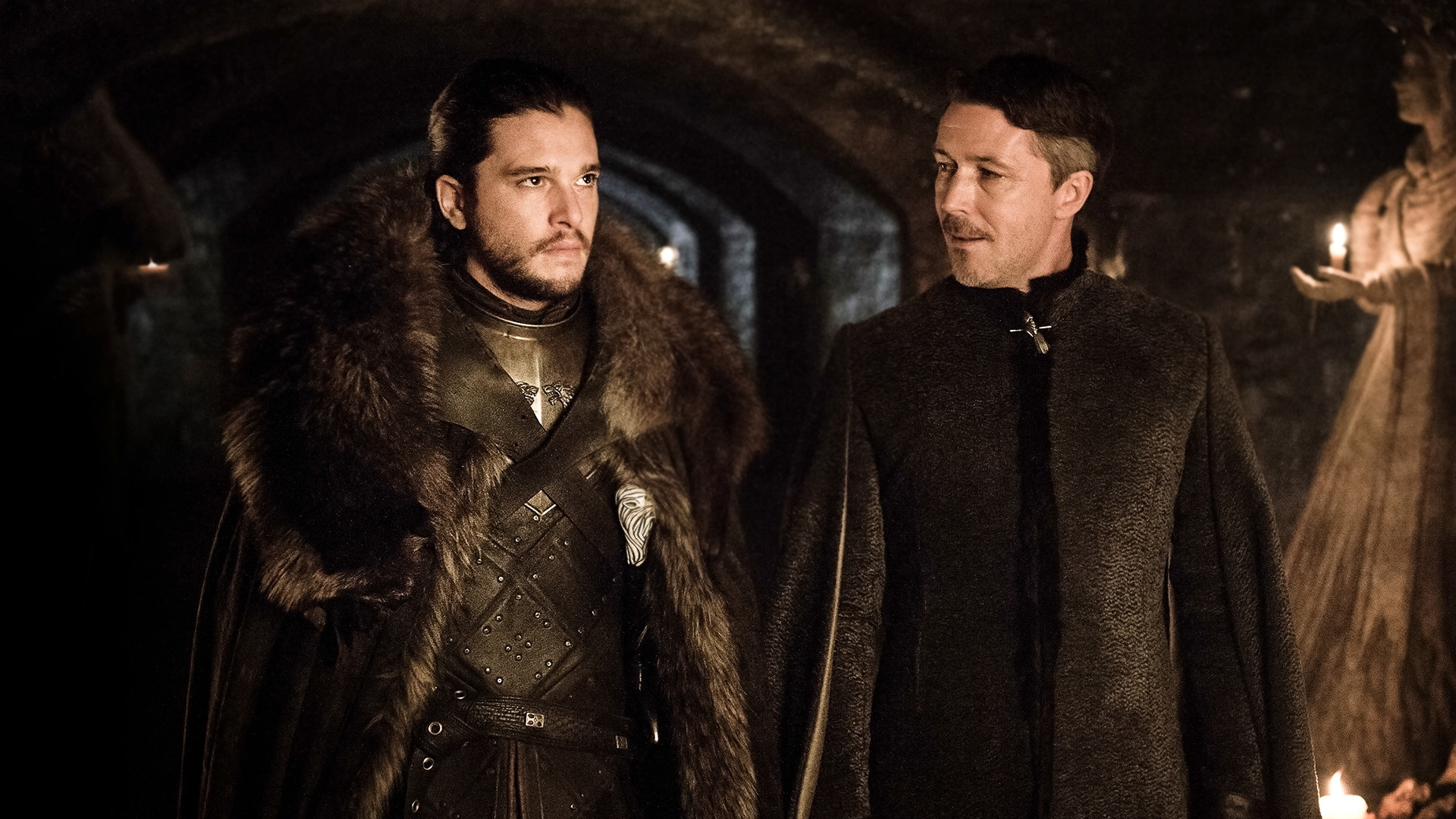 Find somebody who looks at your enemies the way Jon Snow looks at Littlefinger.