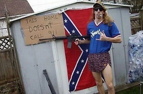 "This is what came up when I googled ""American gun nut""."