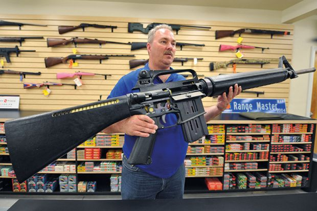 """This is what came up when I googled """"American gun advocate""""."""