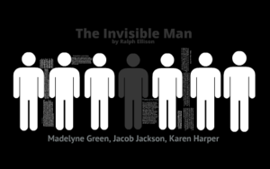 Black bodies disappear in the Ellison's Invisible Man.