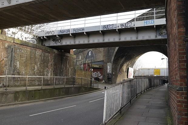 A bridge. In Peckham.