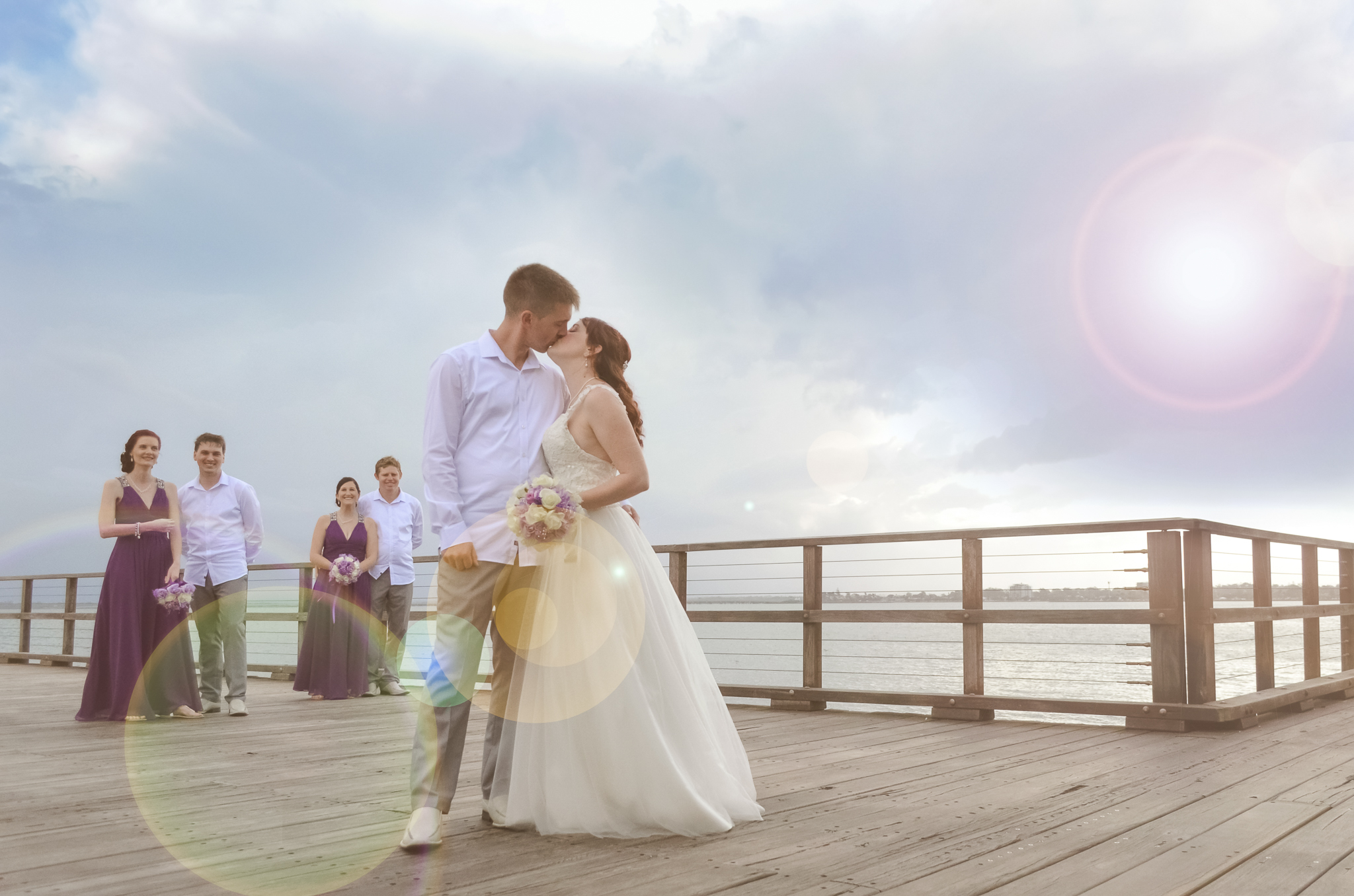 Alyce & Arron - Woody Point Queensland