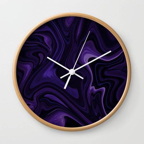 WALL CLOCK NATURAL WHITE