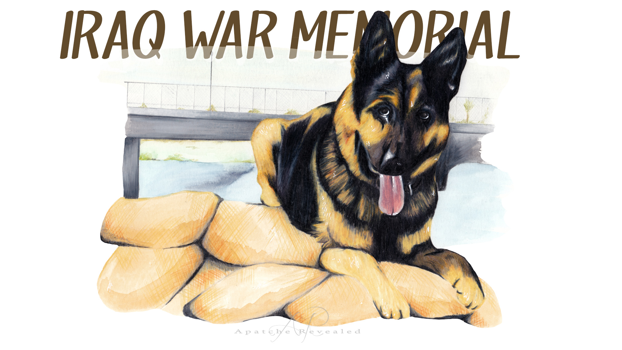 Iraq War Dog