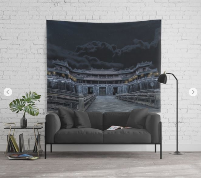 Hue Citadel Tapestry.JPG
