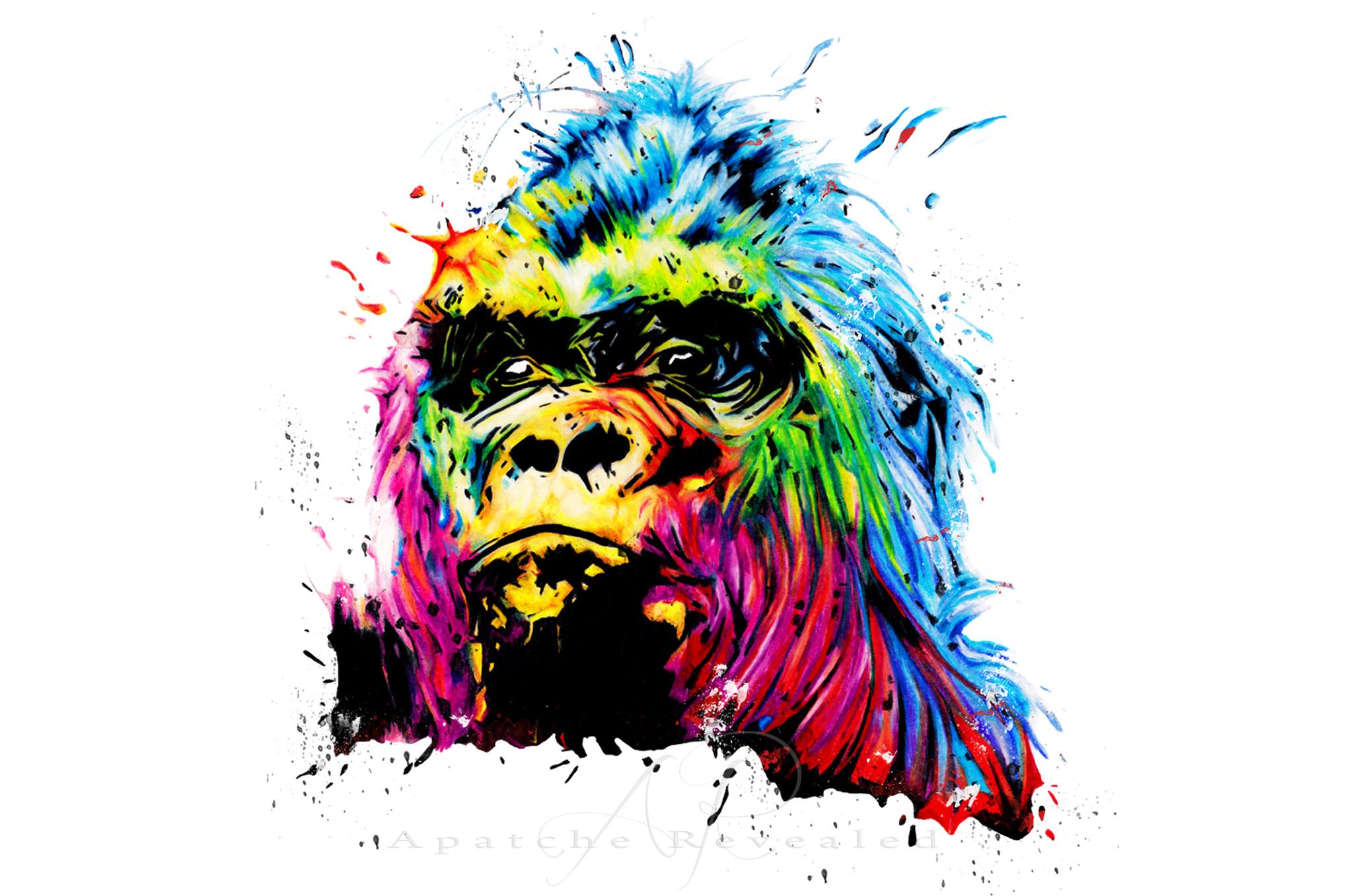 Rainbow Gorilla