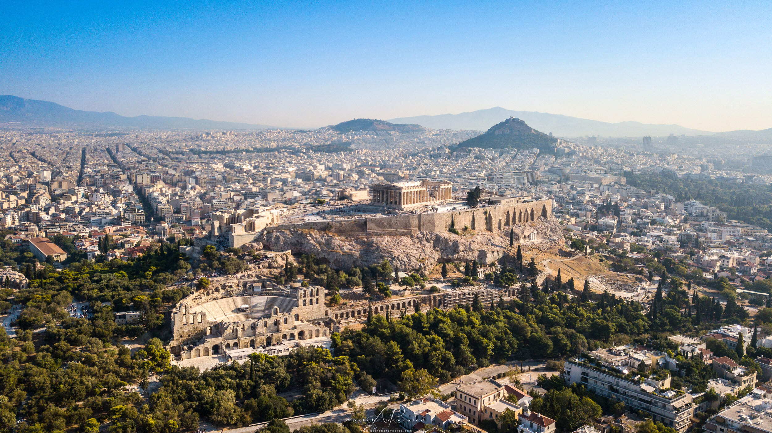 Acropolis mountain   Athens