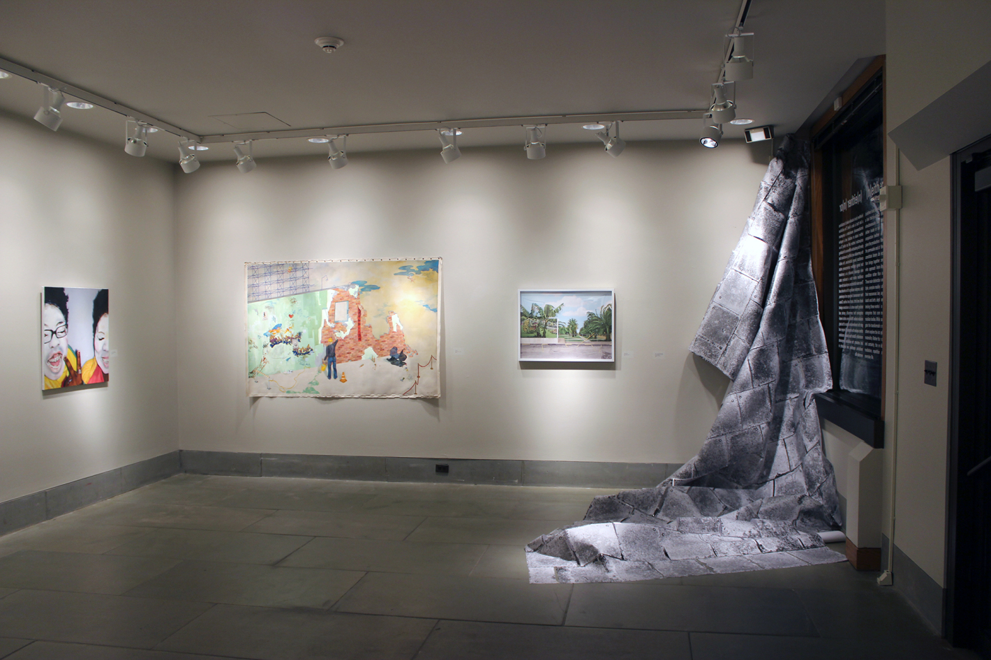 (n)either (n)or installation view.