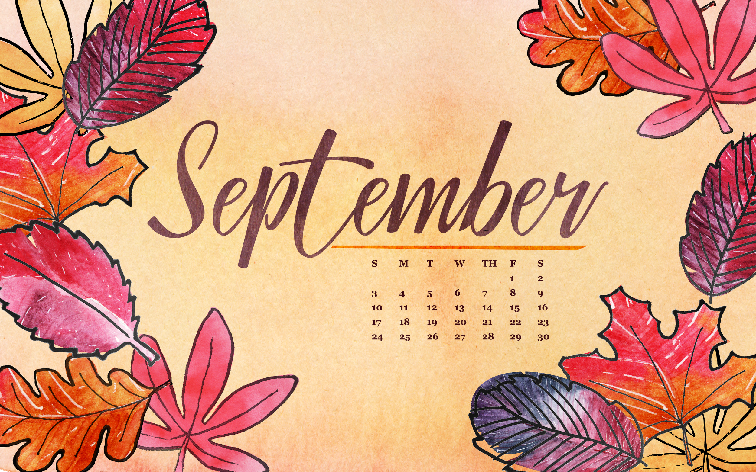 Free Download Tech Wallpapers For September Erica The Illustrator