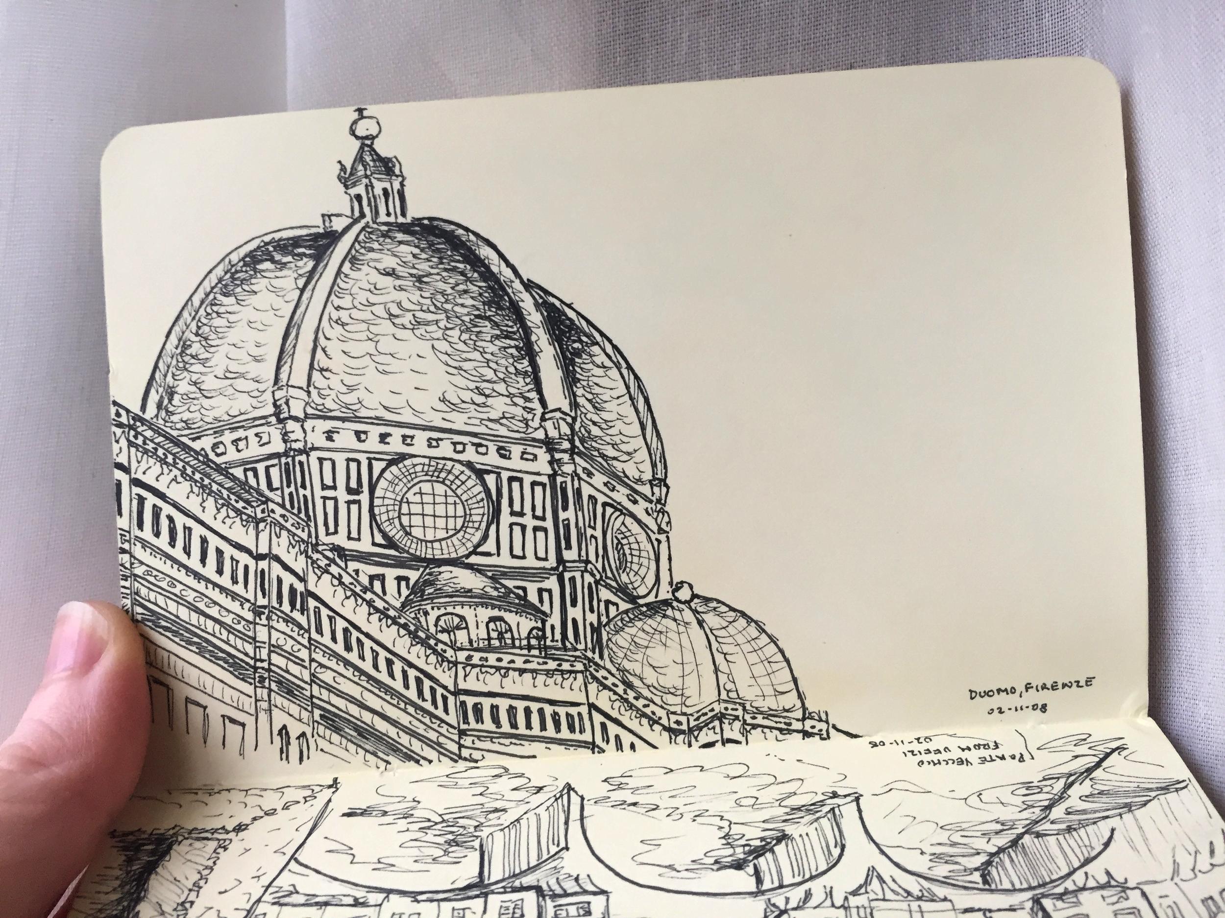 architectural-illustration-il-duomo-firenze
