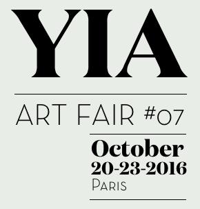 YIA Art Fair #07October 20th - 23rd 2016Le Carreau du Temple 4 rue Eugène Spuller75003 ParisBooth 21 / 22 -