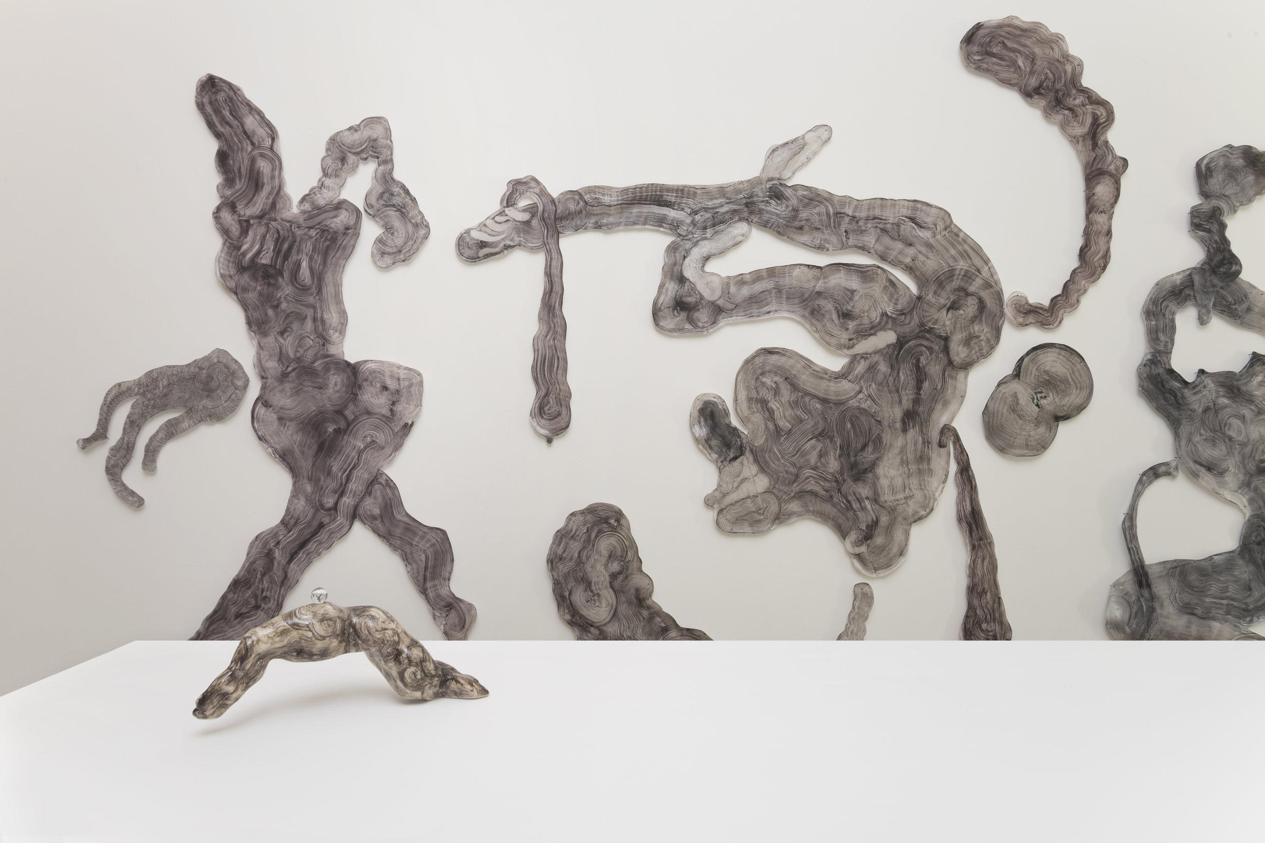 """Iposcenio"" - Guglielmo Castelli, Installation view"