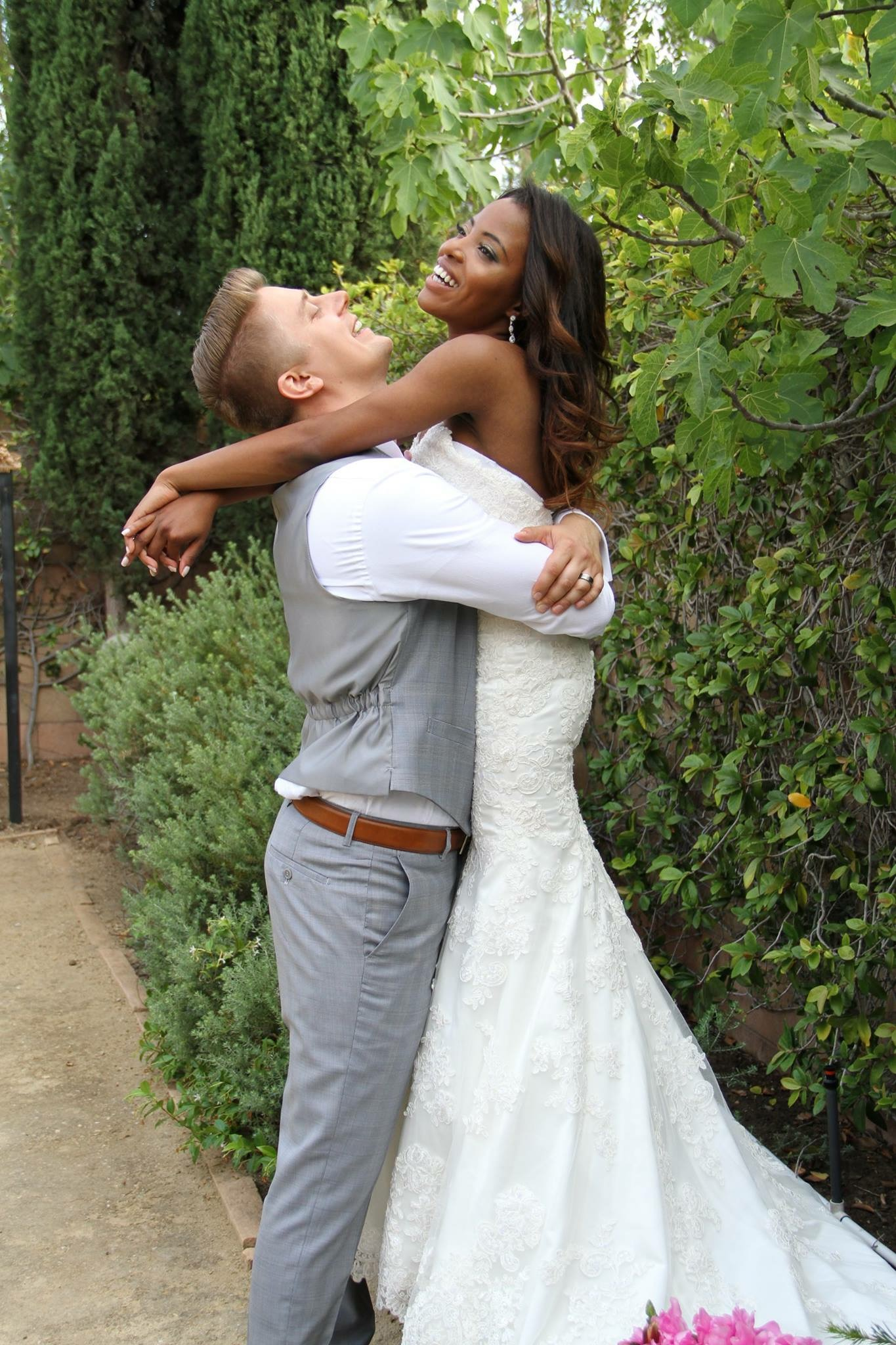 A photo from our wedding in Simi Valley, CA.