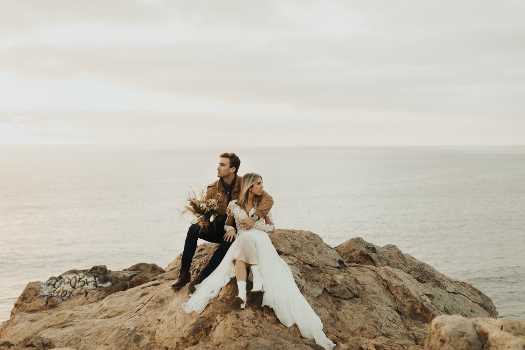 Elopement   styled california elopement