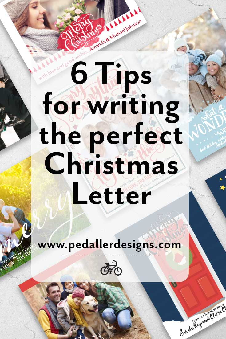 Summing up all the wonderful and fun things your family did this year into a few short paragraphs can be tricky. But don't miss out on sending love and christmas wishes to your loved ones this year, this 6 tips will help you craft the perfect letter for your annual Christmas card. Click through to read them all >>