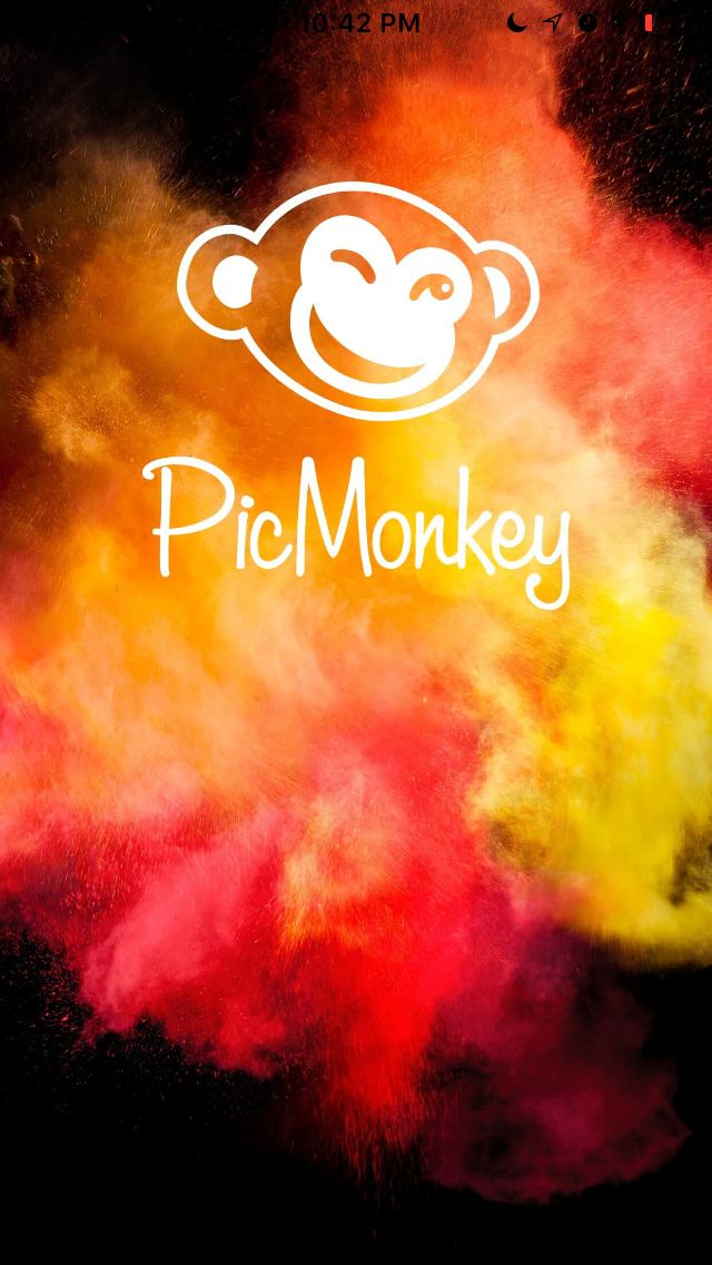 - Start by downloading and opening Pic Monkey on your mobile phone.