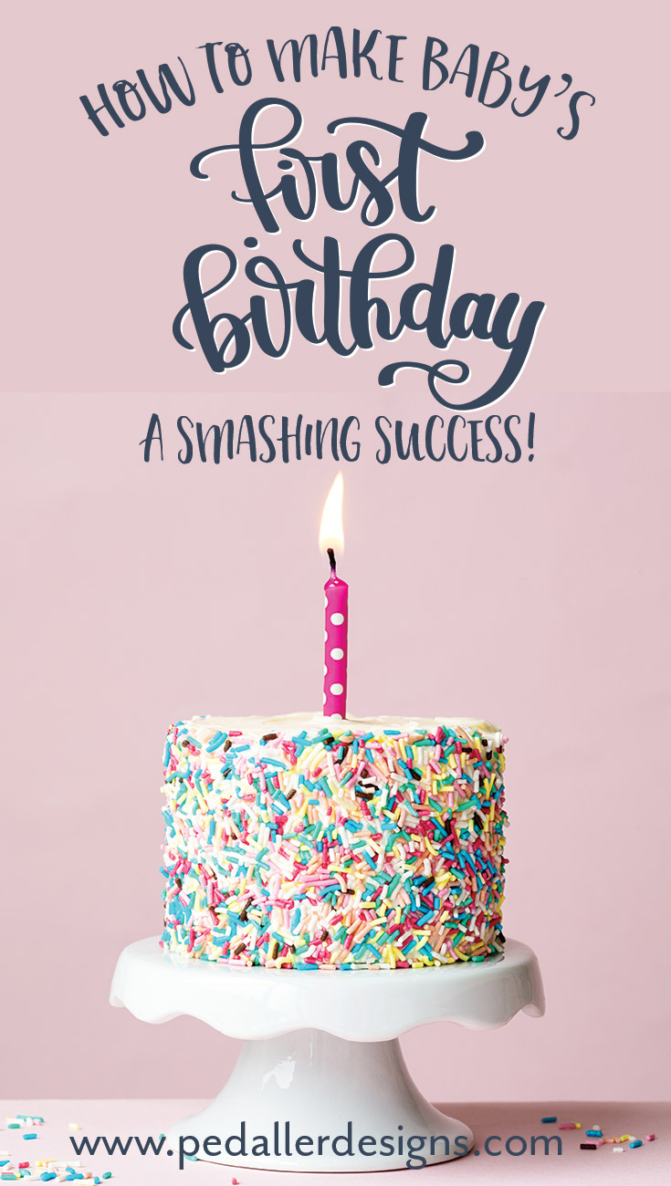 If you are feeling overwhelmed on where to even start planning your baby's first birthday party, start here with simple tips on how to make your baby's birthday a sweet celebration to remember! Click through to get your little one's party started >>